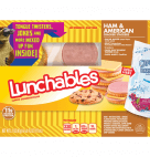 Lunchables Ham & American Cracker Stackers Lunch Combination 3.1oz  with Capri Sun® Roarin' Waters 6.0oz