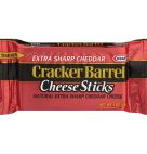 Cracker Barrel Extra Sharp Cheddar Cheese Stick 14 Ct