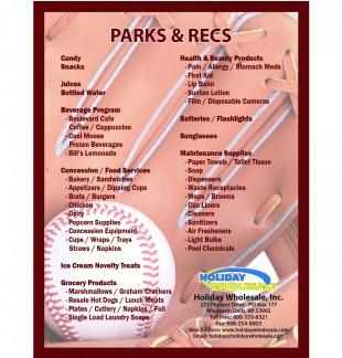 Parks & Recs Checklist