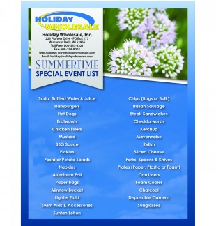 Summertime Event Planning